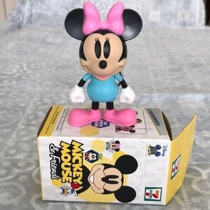 🤖4/$40🤖Minnie  Mickey 90th Anniversary figurine